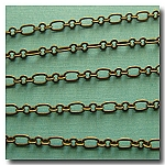 1-080 Antique Brass Romantic Style Chain