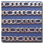 1-268 Stainless Steel Large Figaro Chain