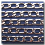 1-271 Stainless Steel Large Elongated Flat Cable Chain