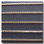 1-644 Gold Plate Edging Chain 1.2mm