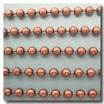 1-657 Antique Brass Ball Chain 4.5mm