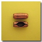 1-663 Antique Copper Ball Chain Connector - 4.5mm