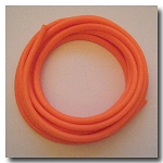 1-1048 Orange Sherbet Licorice Rubber 10mm x 6mm