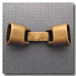 1-1064 Antique Brass Euro Licorice Snap Clasp