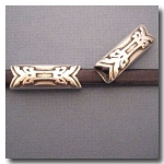 1-1123 Antique Silver Euro Licorice Abstract Arrow