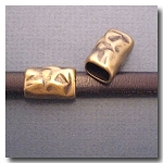 1-1128 Antique Brass Euro Licorice Distressed Tube