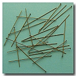 1-234 Antique Brass Headpins