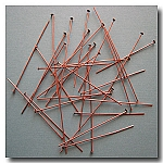 1-236 Antique Copper Headpins