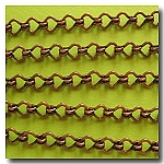 1-246 Antique Copper Standard Steampunk Chain