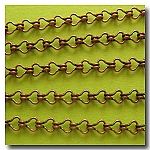 1-247 Antique Copper Petite Steampunk Chain