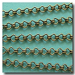 1-251 Antique Brass Standard Steampunk Chain