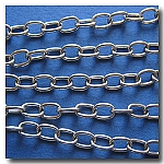 1-261 Stainless Steel Elongated Cable Chain