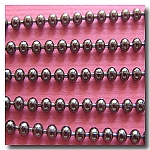 1-312 Gunmetal Ball Chain 1.8mm