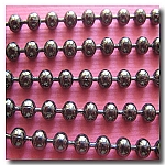 1-313 Gunmetal Ball Chain 3.2mm