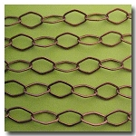 1-341 Antique Copper Designer Chain