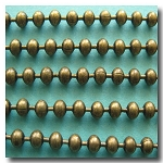 1-385 Antique Brass Ball Chain 3.2mm