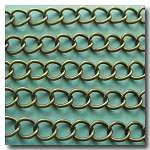 1-390 Antique Brass Classic Curb Chain