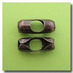 1-643 Antique Copper Ball Chain Connector - 8mm