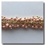 1-3502 Light Peach Fringe Chain