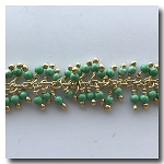 1-3506 Green Fringe Chain