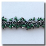 1-3511 Dark Green Fringe Chain