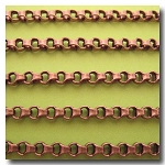 Antique Copper Ladder Chain 3.5mm