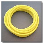 Fluorescent Lemon Drop Euro Licorice Rubber 10mm x 6mm.