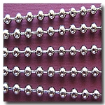 Nickel Plated Ball Chain 3.2mm