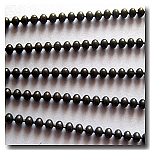 Dark Brown Ball Chain 1.8mm
