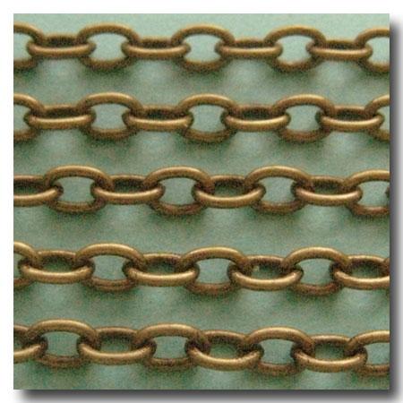 Solid Brass Chain Bulk Jewelry Chain