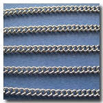 Stainless Steel Smallest Curb Chain 2mm