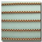 Antique Brass New Box Chain 2.5mm