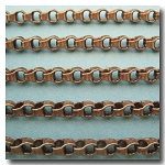 Antique Brass Urban Style Chain 4.5mm