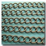 Antique Brass Classic Curb Chain