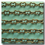 Antique Brass Medium Peanut Style Chain