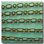 Antique Brass Medium Romantic Style Chain