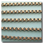 Antique Brass Urban Style Chain 3.5mm