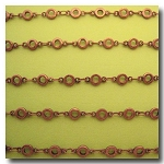 Antique Copper Circlet Chain