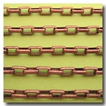 Antique Copper Rectangle Chain