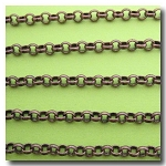 Antique Copper Rolo Chain 4.5mm