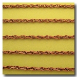 Antique Copper Rope Style Chain 3mm