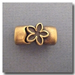 Antique Brass Euro Licorice Flower Magnet Clasp