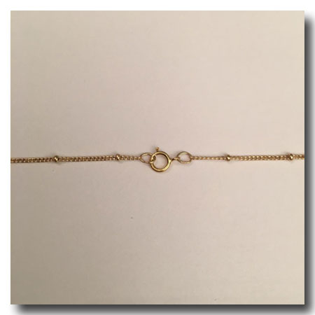 Gold Filled Necklace Satellite Chain 5 8 Inch 18 Inch
