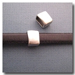 Antique Silver Euro Licorice Artisan Square
