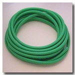 Green Euro Licorice Rubber 10mm x 6mm