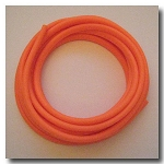 Orange Sherbet Euro Licorice Rubber 10mm x 6mm