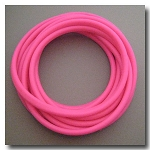 Candy Apple Pink Euro Licorice Rubber 10mm x 6mm