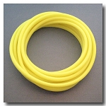 Fluorescent Lemon Drop Euro Licorice Rubber 10mm x 6mm