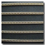 Gold Plate Micro Curb Chain