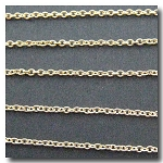 Gold Plate Pendant Chain 2mm